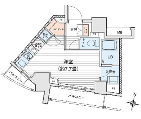 プリモレガーロ町田 / 8階 部屋画像1