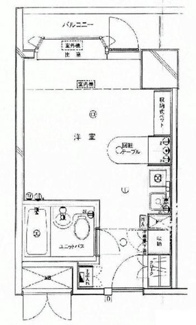 インペリアル南麻布コート&サテライト / 1階 部屋画像1