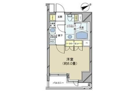 カスタリア日本橋 / 304 部屋画像1