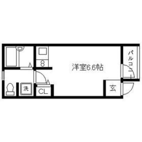 FUJISTA 幡ヶ谷 Ⅰ / 201 部屋画像1
