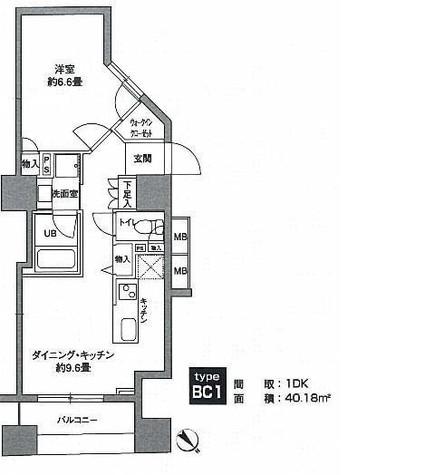 KWレジデンス新川 / 703 部屋画像1