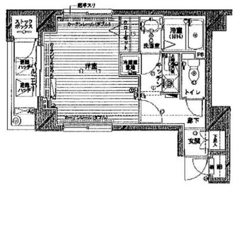 メゾン・ド・ヴィレ神田神保町 / 205 部屋画像1