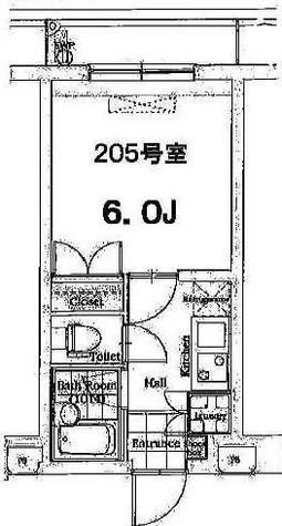 グラントゥルース目黒花房山 / 4階 部屋画像1