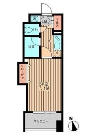 TOP RESIDENCE日本橋茅場町(トップレジデンス日本橋茅場町) / 1302 部屋画像1