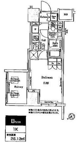 コンフォリア浅草橋 / 6階 部屋画像1