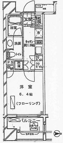 クオリアY'z恵比寿 / 6階 部屋画像1