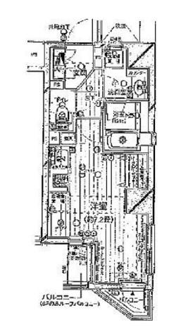プレール・ドゥーク新宿御苑 / 1001 部屋画像1