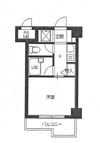 スカイコート文京小石川 / 7階 部屋画像1