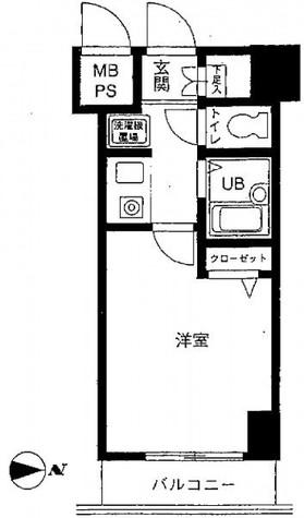 菱和パレス明大前壱番館 / 3階 部屋画像1