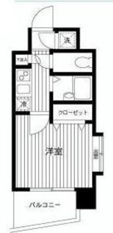 菱和パレス白金高輪駅前 / 4階 部屋画像1