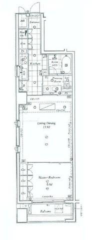 プラティーク日本橋 / 10階 部屋画像1