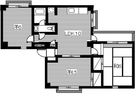 サンライン45 / 202 部屋画像1