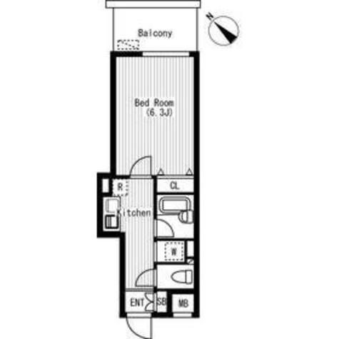 エスティメゾン神田(旧スペーシア神田) / 11階 部屋画像1