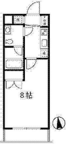 MITEZZA大森Ⅱ(ミテッツア大森Ⅱ) / 4階 部屋画像1