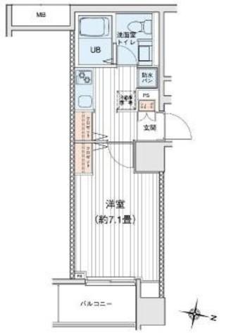プリモレガーロ町田 / 7階 部屋画像1