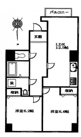 グランパレ / 4階 部屋画像1