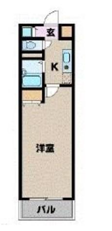 カスタリア新宿 / 10階 部屋画像1