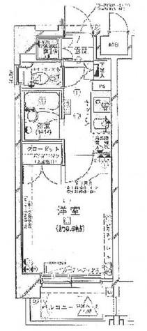 パレステュディオ日本橋東 / 603 部屋画像1