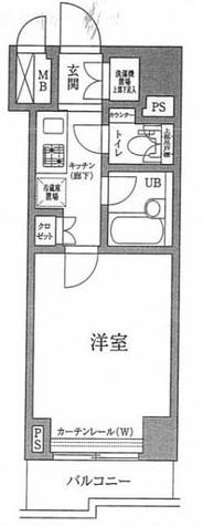ルーブル下丸子 / 4階 部屋画像1