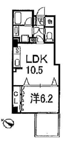 レジディア文京音羽 (旧)パシフィックレジデンス文京音羽 / 1階 部屋画像1