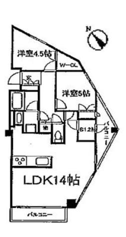 レジディア文京音羽 (旧)パシフィックレジデンス文京音羽 / 8階 部屋画像1