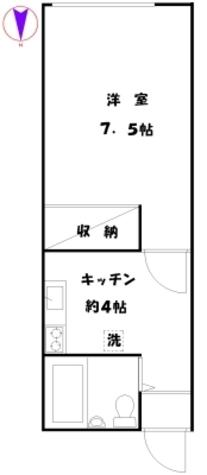 希望荘 / 103 部屋画像1