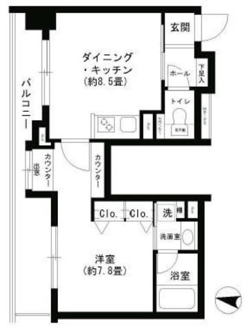クリオ文京小石川 / 15階 部屋画像1