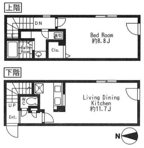 Branche 大森Ⅱ(ブランシェ大森Ⅱ) / 4階 部屋画像1