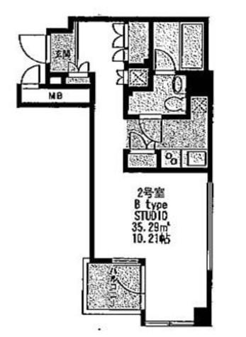 スイートワンコート / 7階 部屋画像1