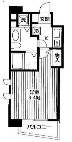 プロシード松涛 / 801 部屋画像1