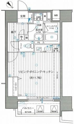 サンクレイドル横濱(サンクレイドル横浜) / 11階 部屋画像1