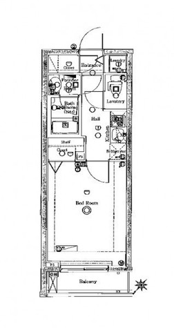 ブレシア日本橋蛎殻町 / 302 部屋画像1