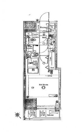 ブレシア日本橋蛎殻町 / 5階 部屋画像1