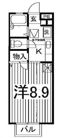 ストロベリーフィールズ / 1階 部屋画像1