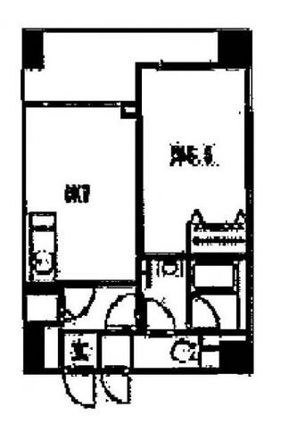 銀座レジデンス参番館 / 6階 部屋画像1
