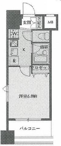 ドゥーエ新川 / 408 部屋画像1