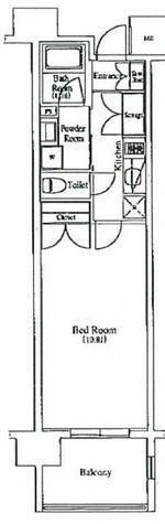 プレミアムキューブ秋葉原 / 12階 部屋画像1
