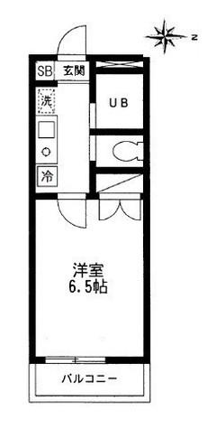 笹塚 4分マンション / 1階 部屋画像1