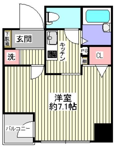 プレール・ドゥーク神田 / 9階 部屋画像1