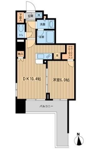 ファインアドレス新御徒町 / 4階 部屋画像1