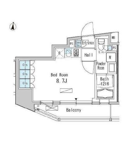 九段下 2分マンション / 401 部屋画像1