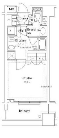 パークアクシス御茶ノ水ステージ / 2階 部屋画像1