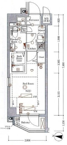 アクサス中野富士見町(AXAS中野富士見町) / 1階 部屋画像1