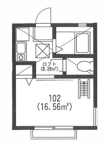 G・Aタウン保土ヶ谷B棟 / 2階 部屋画像1