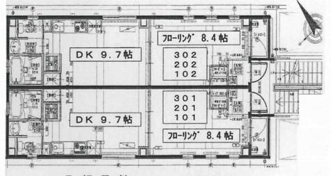 パークヒル三田 / 1階 部屋画像1