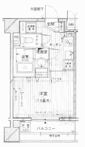 プライブ恵比寿 / 5階 部屋画像1