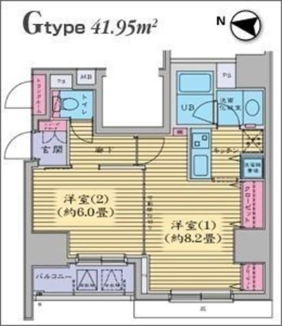 HF日本橋レジデンス 【旧ジョイシティ日本橋】 / 11階 部屋画像1