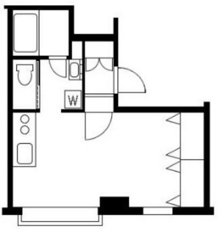 シャルム初台 / 3階 部屋画像1
