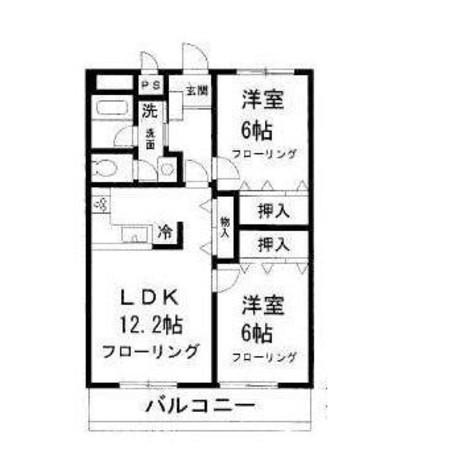 パークレジデンス目黒 / 2階 部屋画像1