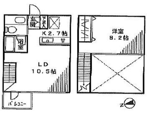 ラフィーヌ市谷仲之町 / 4階 部屋画像1